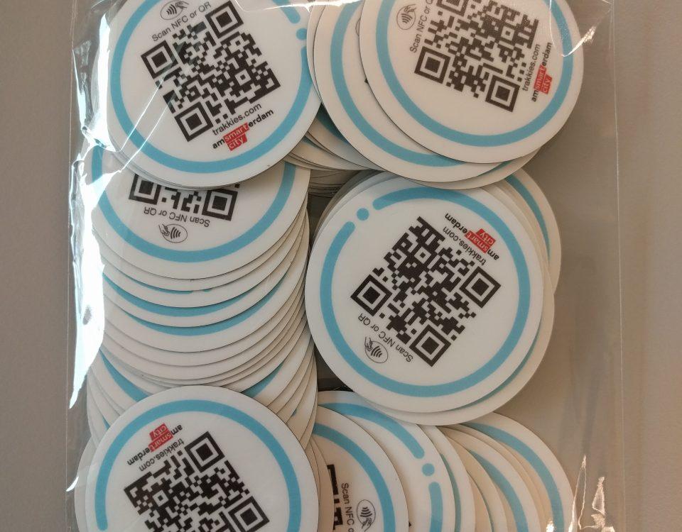 NFC asset management stickers