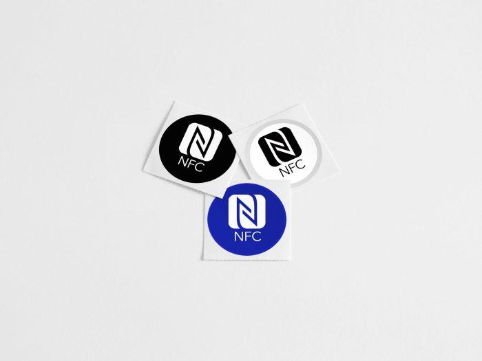 NFC Tags Multipack 3 kleuren
