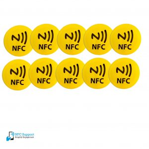 NFC-tags-29mm-geel