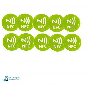 NFC-tags-29mm-groen