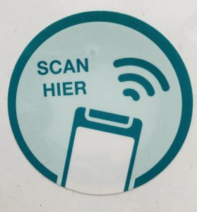 NFC Sticker Admicom