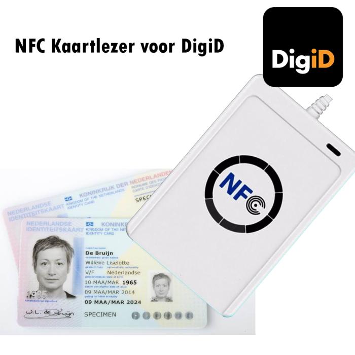 NFC-kaartlezer-DigiD