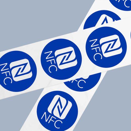 NFC Stickers bedrukt